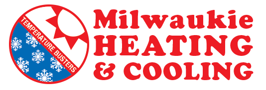 Milwaukie Heating & Cooling Retina Logo